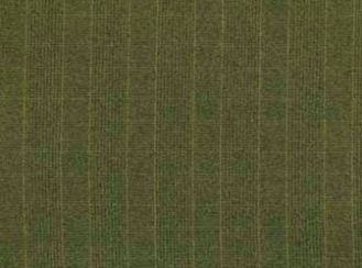 Chelsea Stripe Lime Natural Wool Tweed Fabric
