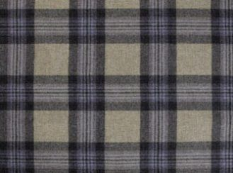 Aspen Lavender Natural Wool Tweed Fabric