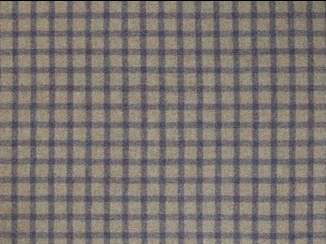 Baniff Lavender Natural Wool Tweed Fabric
