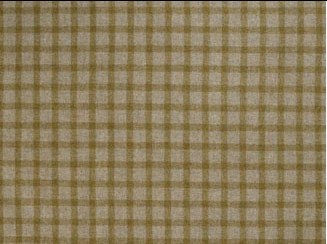 Baniff Old Gold Natural Wool Tweed Fabric