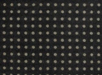 Spot Dark Natural Wool Tweed Fabric
