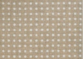 Spot Light Natural Wool Tweed Fabric