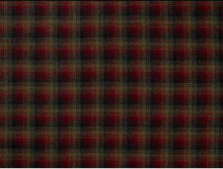 Tremblant Red Natural Wool Tweed Fabric