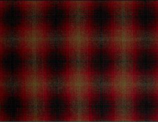 Whistler Red Natural Wool Tweed Fabric