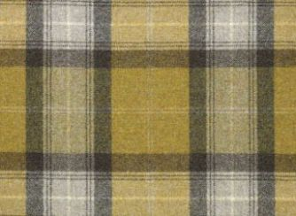 Skye Dark Old Gold Natural Wool Tweed Fabric