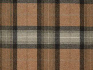 Skye Light Terracotta Natural Wool Tweed Fabric