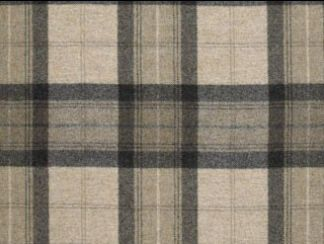 Skye Natural Wool Tweed Fabric