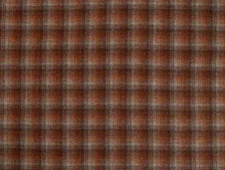 Tremblant Terracotta  Natural Wool Tweed Fabric