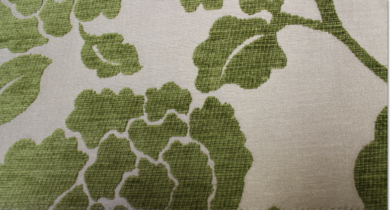 Coronation Floral Olive Fabric