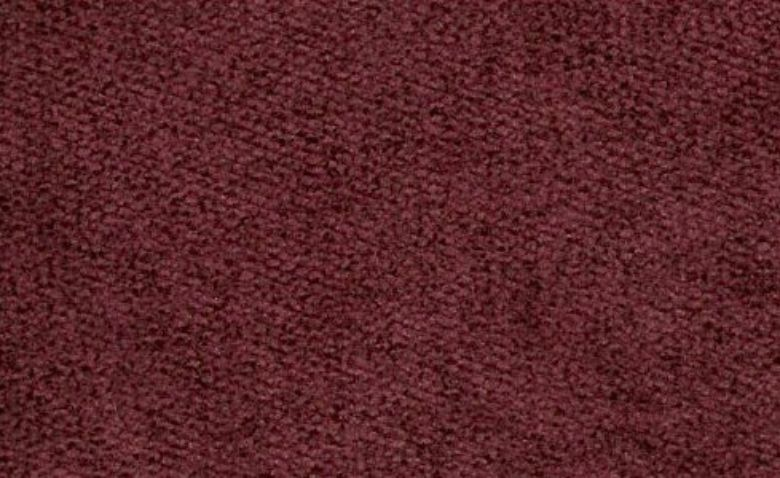 Dakota Claret Velvet Fabric
