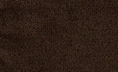 Dakota Dark Chocolate Velvet Fabric
