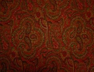 Mac Claret Natural Wool Tweed Fabric