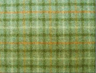Balmoral Eau De Nil Natural Wool Tweed Fabric