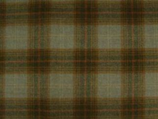 Troon Eau De Nil Natural Wool Tweed Fabric