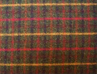 Balmoral Fir Natural Wool Tweed Fabric