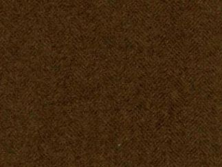 Aberdeen Peat Natural Wool Tweed Fabric