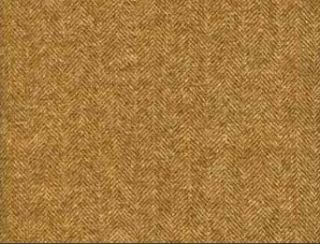 Aberdeen Rope Natural Wool Tweed Fabric
