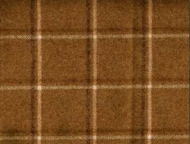 St. Andrew Rope Natural Wool Tweed Fabric