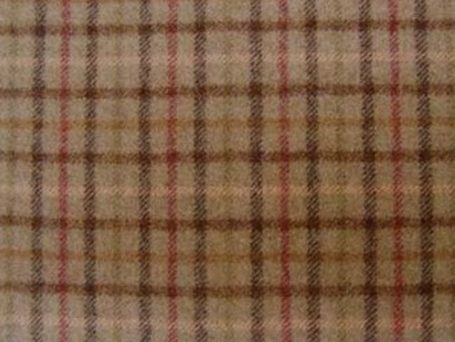 Balmoral Sage Natural Wool Tweed Fabric