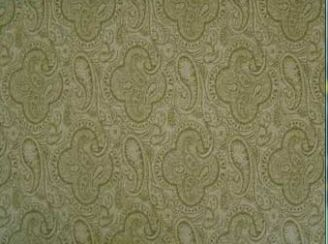 Mac Sage Natural Wool Tweed Fabric