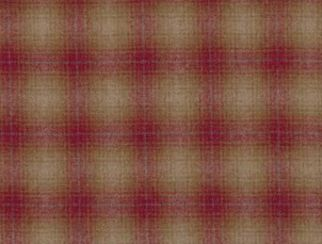 Tradition Scarlet Natural Wool Tweed Fabric