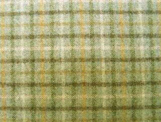 Balmoral Sea Natural Wool Tweed Fabric