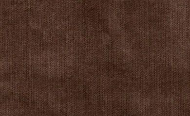 New Jersey Dark Brown Fabric