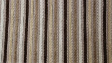 Olivia Stripe Wicker Fabric