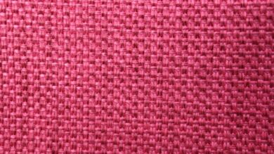 Zoe Plain Raspberry Fabric