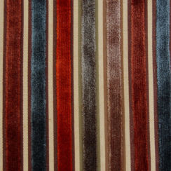 Riga Thin Stripe Velvet Fabric 09