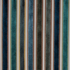 Riga Thin Stripe Velvet Fabric 37