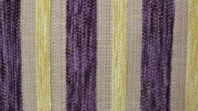 Crystal Stripe Aubergine Fabric