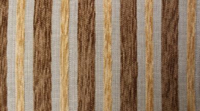 Crystal Stripe Chocolate Fabric