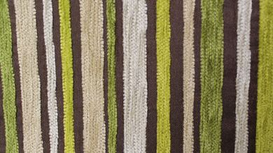 Argent Stripe Citrus Fabric