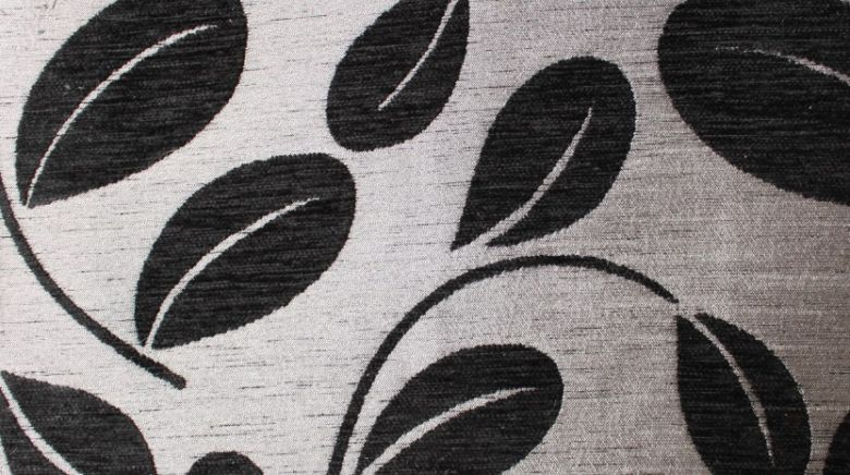 Orchard Leaf Black Fabric