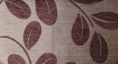 Orchard Leaf Cocoa Fabric