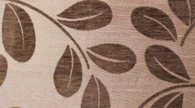 Orchard Leaf Mocha Fabric