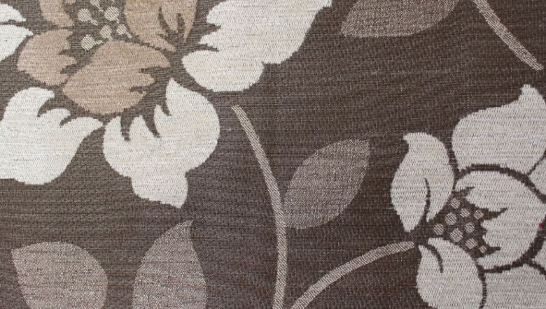 Quartz Floral Cream Fabric