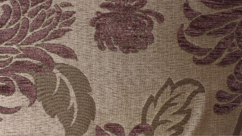 Balcony Floral Cocoa Fabric