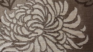 Balcony Floral Cream Fabric