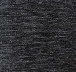Fresco Plain Black Fabric