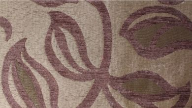 Patio Leaf Cocoa Fabric
