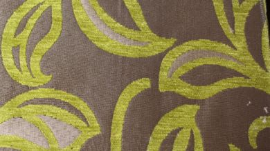 Patio Leaf Citrus Fabric