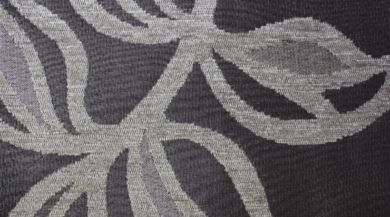 Patio Leaf Platinum Fabric