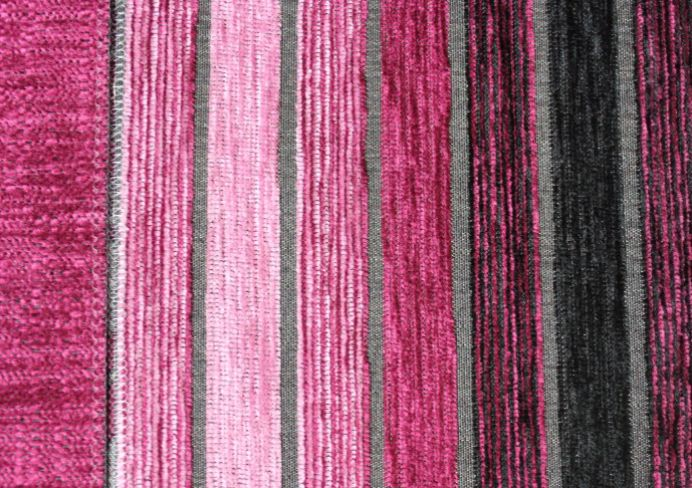 Vista Stripe Fuchsia Fabric