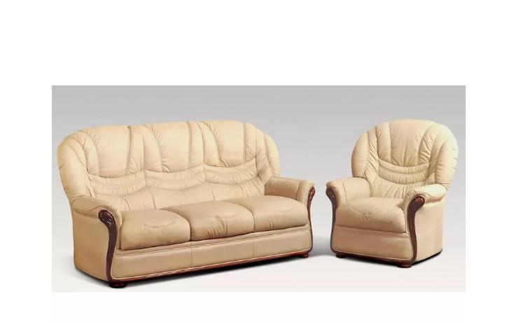 Colorado Sofa Set 3 Seater With An Armchair Genuine Italian