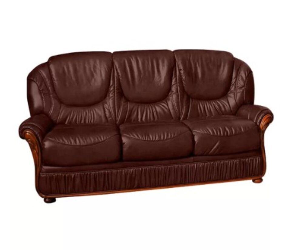 Florida 3 Seater Sofa Genuine Italian, Leather Furniture Florida