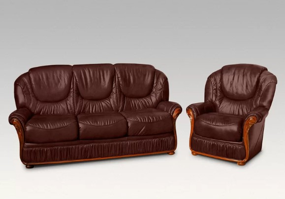 Remarkable Florida Sofa Set Genuine Italian Leather Sofa Suite Offer Machost Co Dining Chair Design Ideas Machostcouk